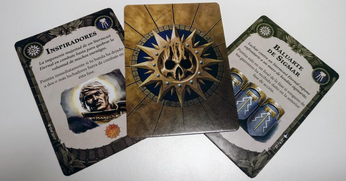 games workshop work shop shadespire warhammer underworlds under worlds mazo de misiones cartas
