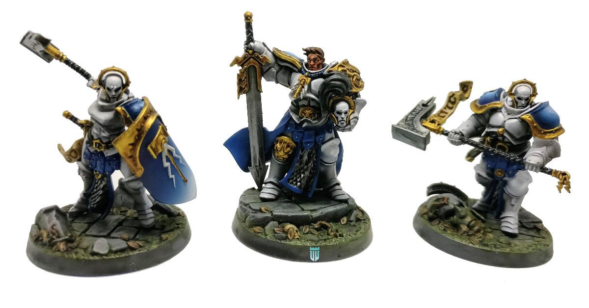 shadespire nightvault warhammer underworlds steelhearts champions campeones