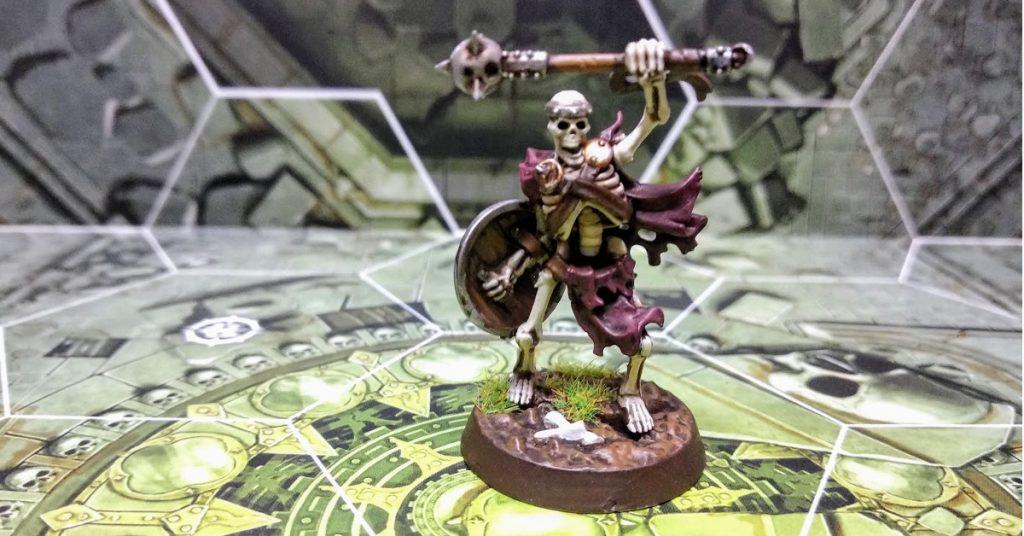 shadespire warhammer underworlds principe del polvo