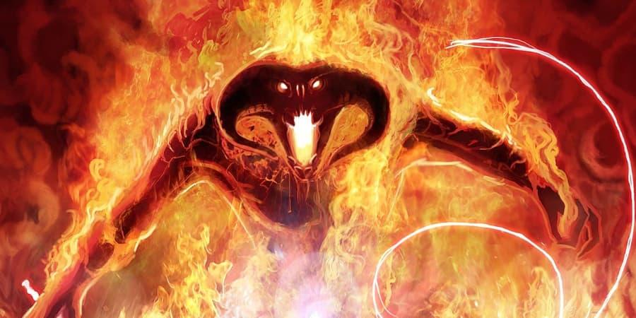 balrog moria demonio poder