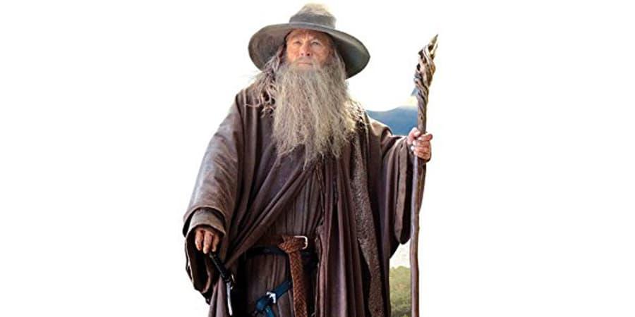 lotr el senor de los anillos gandalf el gris poder