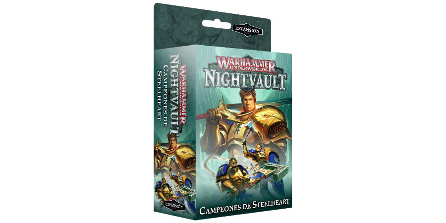 comprar campeones de steelheart warhammer shadespire nightvault barato precio gastos envio
