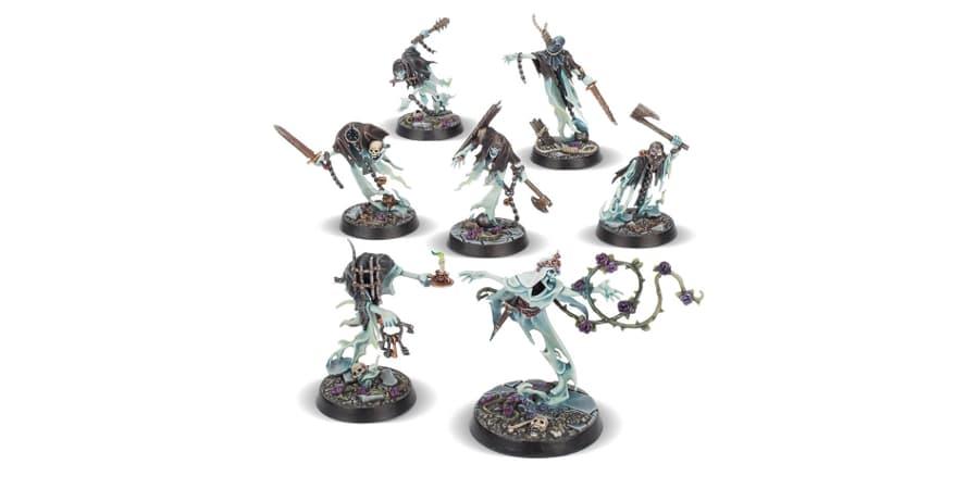 warhammer underworlds espinas de la reina zarza figuras