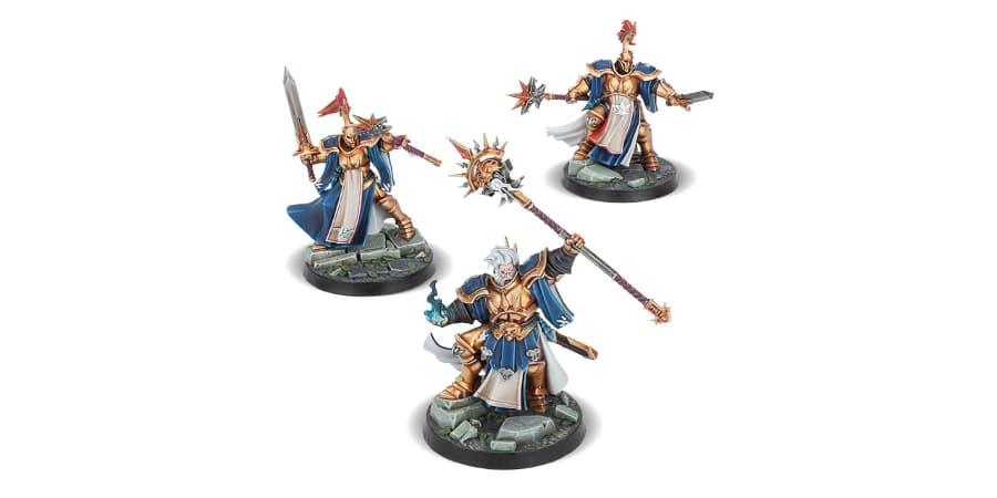 warhammer underworlds rompemaldiciones de stormsire figuras
