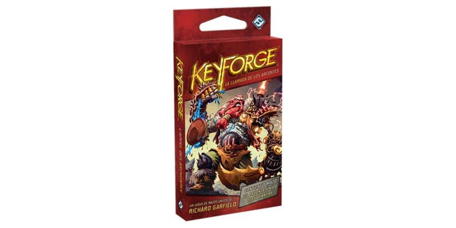 keyforge la llamada de los arcontes baraja