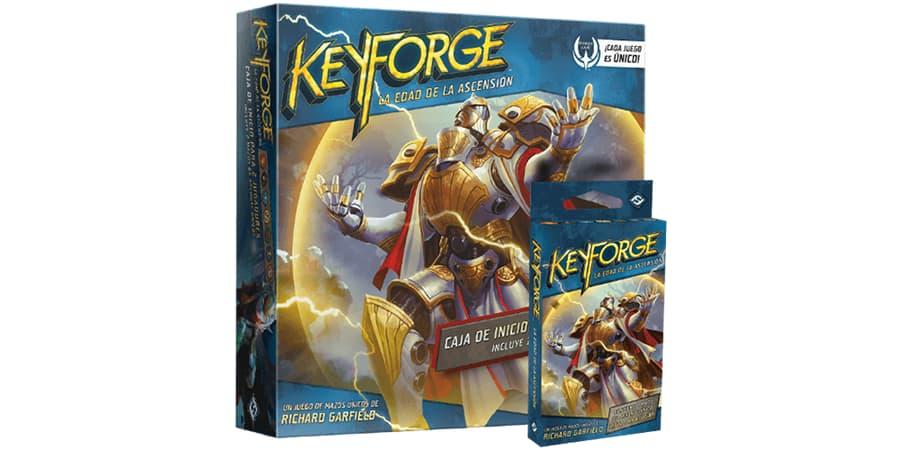 pack keyforge la edad de la ascension cartas