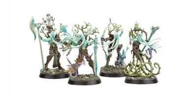 warhammer underworlds guardianes de Ylthari figuras