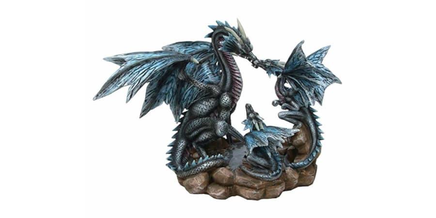 figuras de dragones de resina dragon draco