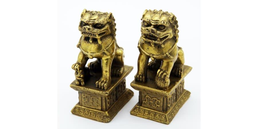 leones de fu perros foo decorativos