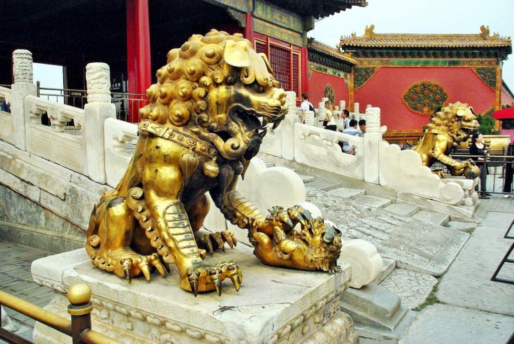 leones de fu perro emperador