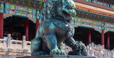 perro fo leon de fu leon chino historia